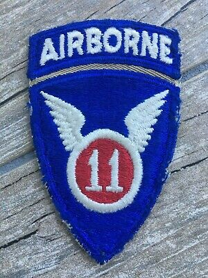 US Army 11th Airborne Division, one piece