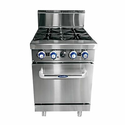 CookRite 4 Burner with Oven LPG