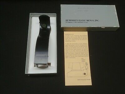 Zeiss Humphrey Auto Refractor Test Eye Instrument model 595