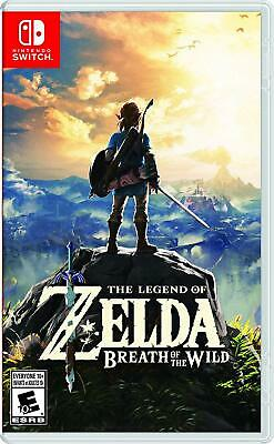 The Legend of Zelda: Breath of the Wild - Nintendo Switch New Factory Sealed