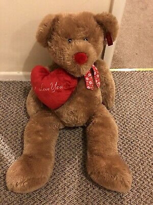 Large Teddy Bear Valentines Day I Love You