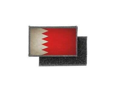 BAHRAIN Bahrainian Country Flag Embroidered PATCH Badge *NEW*