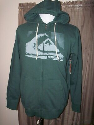 QuikSilver Men/'s Hakone Spring Long Sleeve Hooded Top size M QS2