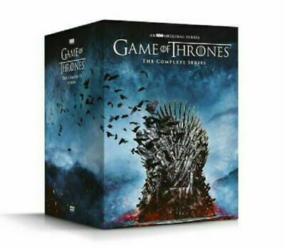 Game Of Thrones : The Complete Series Dvd Boxset Seasons 1-8 New Hbo John Snow