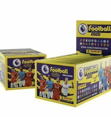 2020 Panini's Football Premier League Stickers 50 Packs Full Box Free Postage