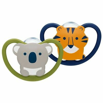 NUK Space Soother Koala/Tiger 6-18m