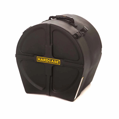 "Hardcase 16"" Floor Tom Case (Yellow Straps)"