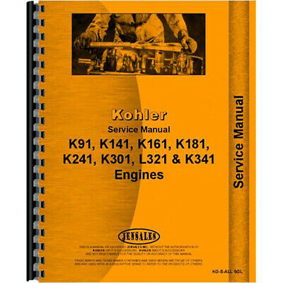 Kohler Engines Engine Service Manual