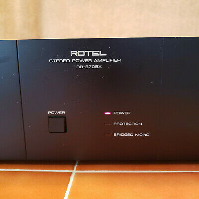ROTEL  RB-870BX Stereo Power Amplifier Good Condition