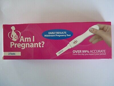 Pregnancy Test Kit Fast Detector Over 99% Accurate - 2 Tests