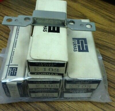 Furnas E103 Overload Relay Heater Elements LOT OF 6
