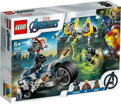 LEGO 76142 Super Heroes Marvel Avengers Speeder Bike Attack Brand New For 6 +