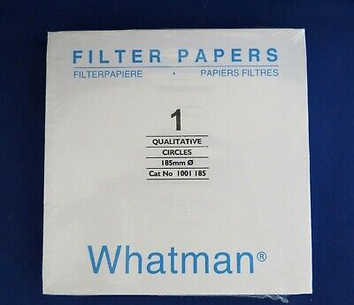 Whatman Qualitative Filter Paper Circles Grade 1 185MM  1001-185