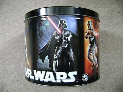 Star Wars Popcorn Expressions Tin Canister / LFL & TM 2011 Good Condition