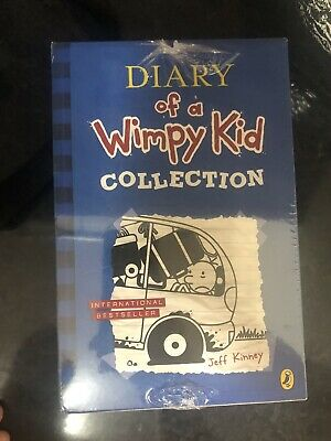 Diary of a Wimpy Kid Collection - 10 Books, Paperback,