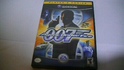 James Bond 007 in Agent under Fire Game For Nintendo Gamecube
