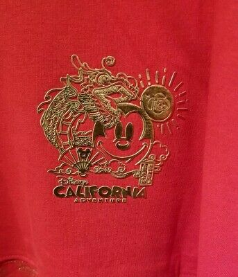 Disneyland Chinese Lunar New Year of the Mouse 2020 XL Spirit Jersey Shirt
