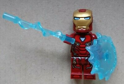 Genuine Lego Marvel Super Heroes Iron Man Mark 50 Minifigure 76108 76125