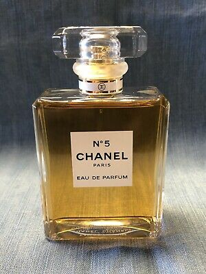 CHANEL No.5 Paris Eau de Parfum Spray 3.4oz. AUTHENTIC ~99% Full