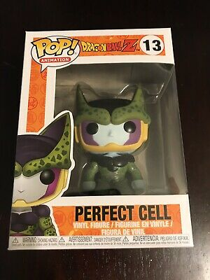 Funko Pop! Animation Dragon Ball Z Perfect Cell #13 Vinyl Figure WITH PROTECTOR!