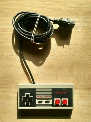 Official Nintendo Nes Controller! Works Great! Fast Shipping! Authentic! TESTED