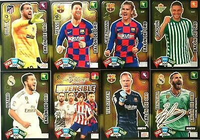 Balones De Oro Y Supercracks Adrenalyn Xl 2019-2020 Panini