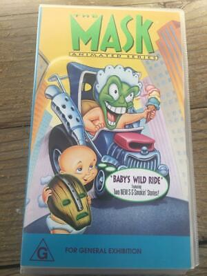 The Mask A  Rare Find Vhs Video Pal~