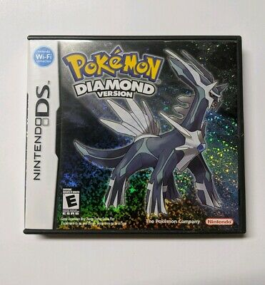 Pokemon Diamond Version Nintendo DS NO GAME Case, Manual And Inserts Only