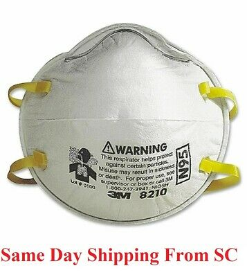 3M 8210 N95 Particulate Respirator mask, 1 pc only