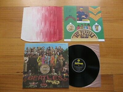 BEATLES - Sgt Peppers LP - ORIGINAL 1967 1st Oz MONO -COMPLETE ALL ORIG CONTENTS