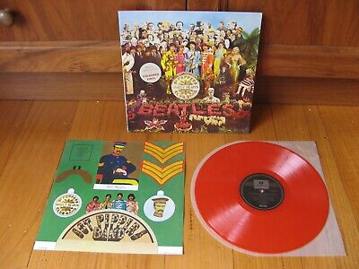 BEATLES - Sgt Peppers Lonely Hearts Cub Band LP - MINT & UNPLAYED Oz RED VINYL