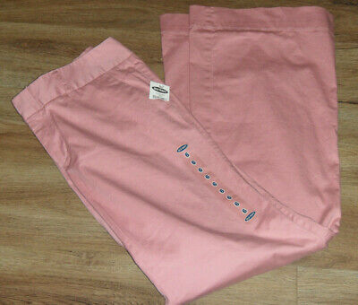Old Navy Pants Sz 6 Womens Low Waist Bootcut Rose Chinos NWTS