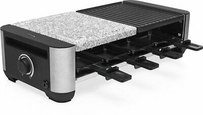 Princess 01.162620.01.001 8 Tray Plate Grill/Raclette & Stone