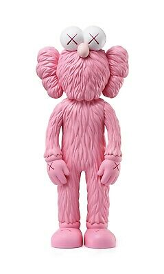 KAWS - BFF (Pink) - Vinyl sculpture Open edition Unopened box | Sold out Moma