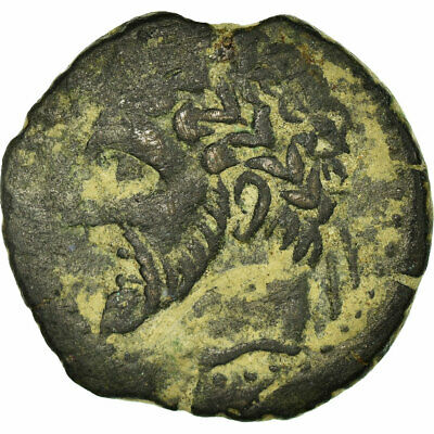 [#499272] Coin, Numidia (Kingdom of), Massinissa or Micipsa, Bronze Æ, VF