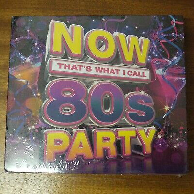 Brand New Sealed Now That's What I Call 80s Party CD Album Music 3 Discs