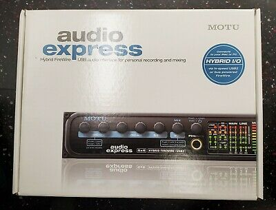 Motu Audio Express 6×6 BRAND NEW FACTORY SEALED!!! 65.00 OFF MSRP!!! SAVE SAVE!!