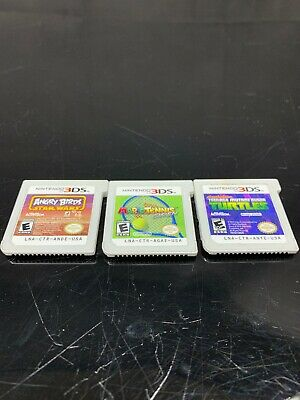 Lot of 3 Nintendo 3DS Games Tested And Working Read Description!!!