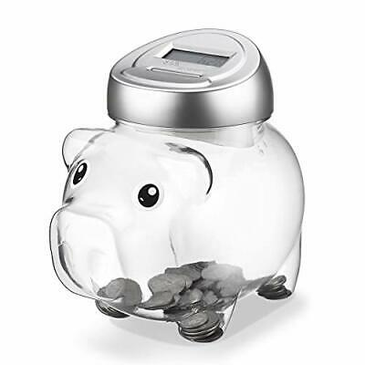 Younion Piggy Digital Coin Bank Automatic Coin Counter Totals All U.S. Coins ...