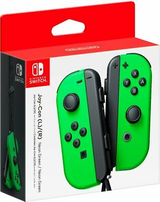 Nintendo - Joy-Con (L/R) Wireless Controllers for Nintendo Switch - Neon Green
