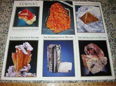 VOL 36 MINERALOGICAL RECORD 2005 All 6 Issues Complete Minerals Crystals Mining