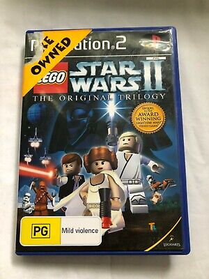 Star Wars II 2 - The Original Trilogy - PS2 Playstation 2