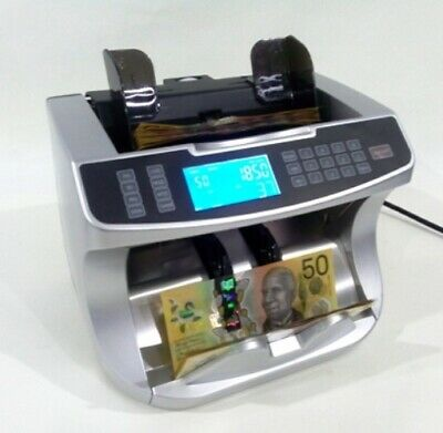 Auscount Aus900A Heavy Duty Money Counter  / Valuer - Counts  All Aussie Notes