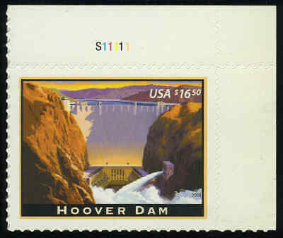 """US #4269 $16.50 Hoover Dam, """"XF-Superb 95"""" NH MNH, PSE graded (2019)"""