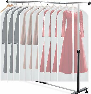 Garment Bags Dress Bag for Storage Dust-Proof Suit Protector Cover Bag with Zip