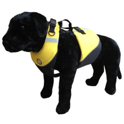 New First Watch Flotation Dog Vest - Hi-Visibility Yellow - Small