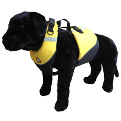 New First Watch Flotation Dog Vest - Hi-Visibility Yellow - Medium