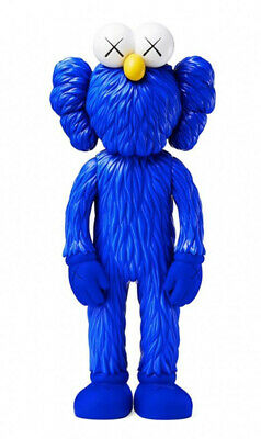 KAWS - BFF (Blue) - Vinyl sculpture Open edition Unopened box | Sold out Moma