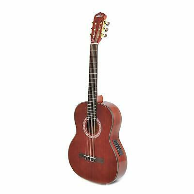 """Left-Handed Classical Acoustic Electric Guitar - 39.5"""" 6String Classical Mahogan"""