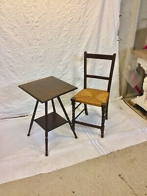 Arts And Crafts Table And Chair